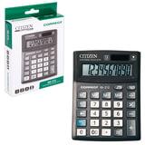 Калькулятор CITIZEN настольный Correct SD-212, 12 разрядов, двойное питание, 103x138 мм, черный, SD-212-RU