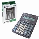 Калькулятор CITIZEN настольный Correct D-312, 12 разрядов, двойное питание, 155x205 мм, черный пластиковый корпус, D-312-RU
