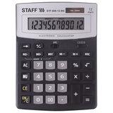 Калькулятор настольный STAFF STF-888-12-BS (200х150 мм) 12 разрядов, ЧЕРНЫЙ, СЕРЕБРИСТЫЙ ВЕРХ, 250451