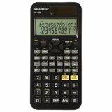 Калькулятор инженерный двухстрочный BRAUBERG SC-850 (163х82 мм), 240 функций, 10+2 разрядов, двойное питание, ЧЕРНЫЙ, 250525