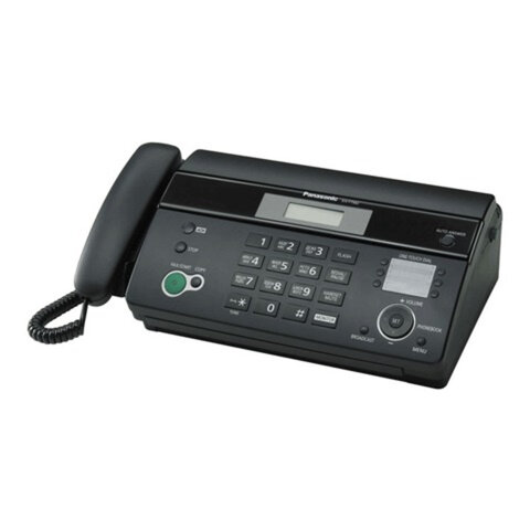 Факс PANASONIC KX-FT982RUB термобумага (рулон), монитор, справочник 100 ном