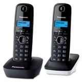 Радиотелефон PANASONIC KX-TG1612RU1 + дополнительная трубка, память 50 номеров, АОН, будильник, радиус 10 - 100 м, цвет серый