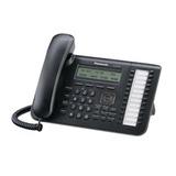 Телефон IP PANASONIC KX-NT543RU-B, повторный набор, часы/календарь, спикерфон, цвет черный