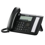 Телефон IP PANASONIC KX-UT136RU-B, память на 500 номеров, SIP, повторный набор, спикерфон, цвет черный
