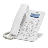 Телефон SIP PANASONIC KX-HDV130RU, 2 SIP-линии, 2 х RJ45, белый, без блока питания