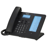 Телефон SIP PANASONIC KX-HDV230RUB, 6 SIP-линий, 2 х RJ45, черный, без блока питания, 12 программированных кнопок
