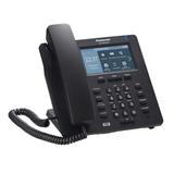 Телефон SIP PANASONIC KX-HDV330RUB, 12 SIP-линий, 2 х RJ45, черный, без блока питания, 12 программированных кнопок