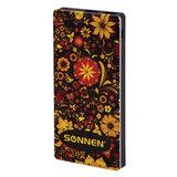 Аккумулятор внешний SONNEN POWERBANK V3802SR, 8000 mAh, 2 USB, литий-полимерный, 262915