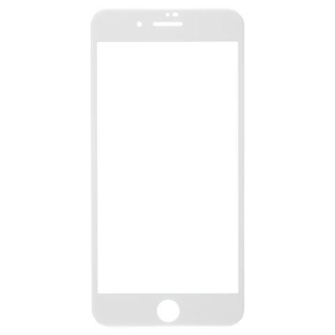 Защитное стекло для iPhone 7 Plus/8 Plus Full Screen (3D), RED LINE, белый, УТ000014074