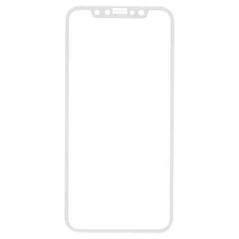 Защитное стекло для iPhone X/XS Full Screen (3D), RED LINE, белый, УТ000012289