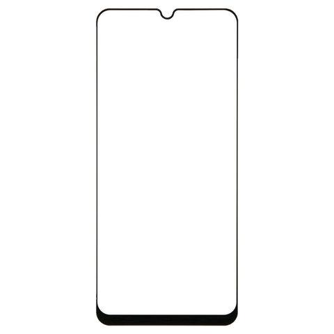 Защитное стекло для Samsung Galaxy A30 Full Screen (3D) FULL GLUE, RED LINE, черный, УТ000017412