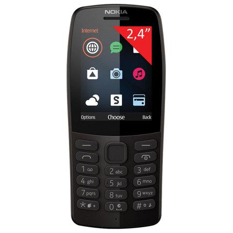 Телефон мобильный NOKIA 210 TA-1139, 2 SIM, 2,4