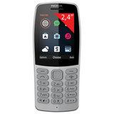 """Телефон мобильный NOKIA 210 TA-1139, 2 SIM, 2,4"""", MicroSD, 0,3 Мп, серый, 16OTRD01A03"""