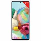 """Смартфон SAMSUNG GalaxyA71, 2 SIM, 6,7"""", 4G (LTE), 32/64 + 12 + 5 + 5 Мп, 128 ГБ, серебристый, металл, SM-A715FZSMSER"""