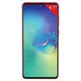 "Смартфон SAMSUNG GalaxyNote10 Lite, 2 SIM, 6,7"", 4G (LTE), 3/12 + 12 + 12 Мп, 128 ГБ, красный, металл, SM-N770FZRMSER"
