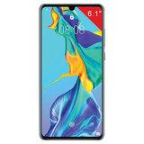 """Смартфон HUAWEI P30, 2 SIM, 6,1"""", 4G (LTE), 32/40 + 16 + 8 Мп, 128 ГБ, северное сияние, металл, 51093QXL"""