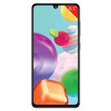 """Смартфон SAMSUNG GalaxyA41, 2 SIM, 6,1"""", 4G (LTE), 48/25 + 8 + 5 Мп, 64 ГБ, черный, пластик, SM-A415FZKMSER"""