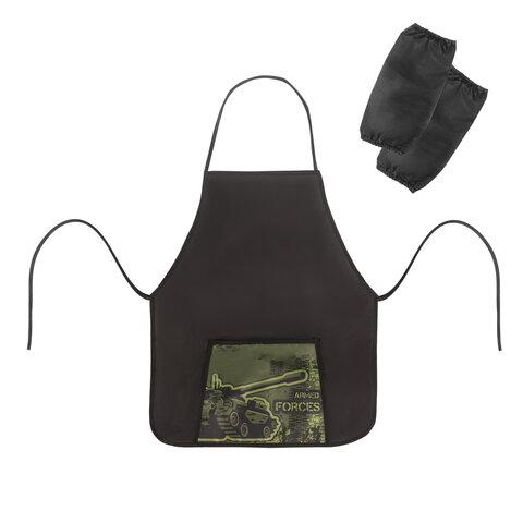 """Фартук с нарукавниками ПИФАГОР, 44x55 см, 1 карман, дизайн на кармане, """"Armed Forces"""", 270195"""
