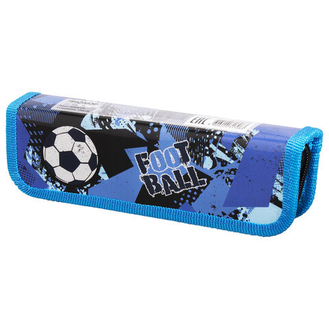 """Пенал ПИФАГОР, 1 отделение, ламинированный картон, 19x6 см, """"Ball"""", 270355"""