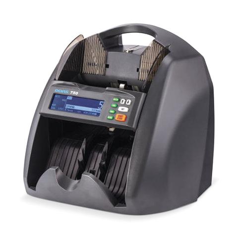 Счетчик-сортировщик банкнот DORS 750, 1500 банкнот/мин, УФ-, магнитная детекция, фасовка