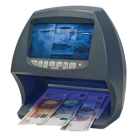 """Детектор банкнот DOCASH BIG D, ЖК-дисплей 18 см, просмотровый, ИК, УФ, антистокс, спецэлемент """"М"""", DVM BIG D"""