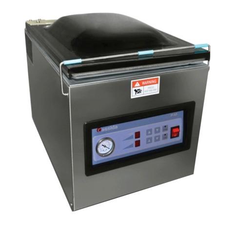 Упаковщик банконт CASSIDA P-10, вакуумный, 4 пакета/минуту, насос 10 м3/час, сварной шов 260 мм