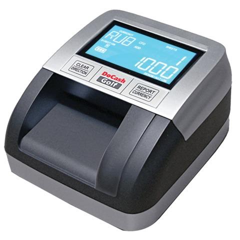 Детектор банкнот DOCASH GOLF, автоматический, RUB, ИК-, магнитная детекция, АКБ, Golf
