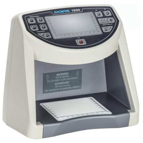 """Детектор банкнот DORS 1200 M1, ЖК-дисплей 11 см, просмотровый, ИК-, УФ-детекция, спецэлемент """"М"""", 1200M1"""