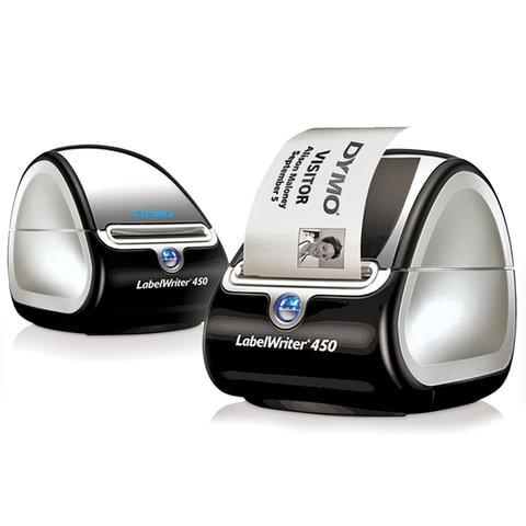 Принтер этикеток DYMO Label Writer 450, скорость печати до 51 этикетки в минуту, S0838770