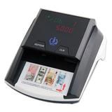 Детектор банкнот MERCURY D-20A LED, автоматический, ИК, магнитная детекция, черный