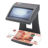 """Детектор банкнот CASSIDA Primero, ЖК-дисплей 11 см, просмотровый, ИК-детекция, спецэлемент """"М"""", 3235"""