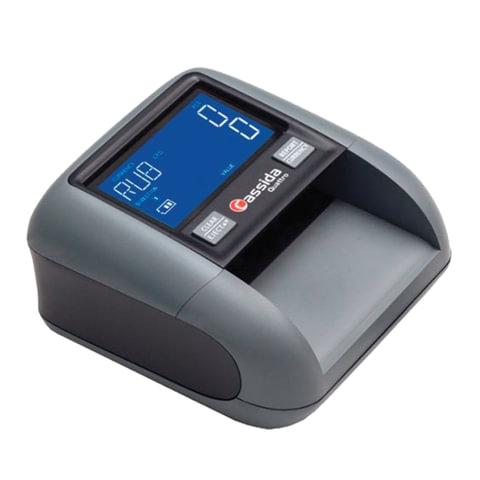 Детектор банкнот CASSIDA Quattro S, автоматический, RUB, ИК, УФ, магнитная детекция, АКБ, 3236