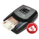 Детектор банкнот CASSIDA Quattro, автоматический, RUB, ИК-, магнитная детекция, АКБ