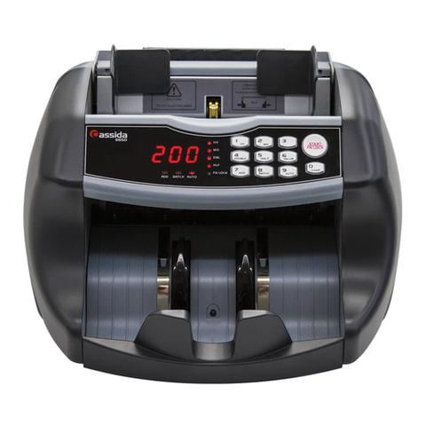Счетчик банкнот CASSIDA 6650 I/IR, 1000 банкнот/мин., ИК, антитокс детекция, фасовка, 3415