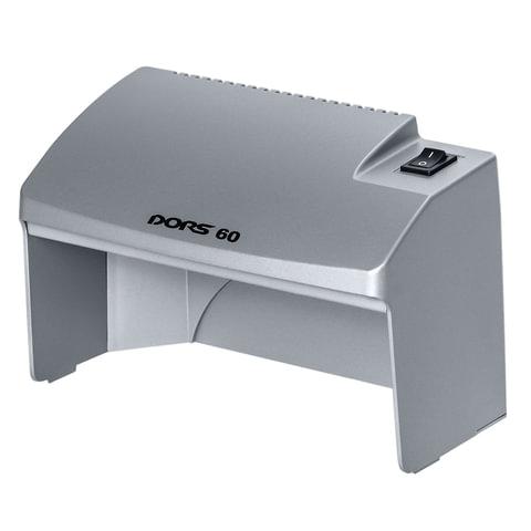 Детектор банкнот DORS 60, просмотровый, УФ детекция, серый, SYS-033277