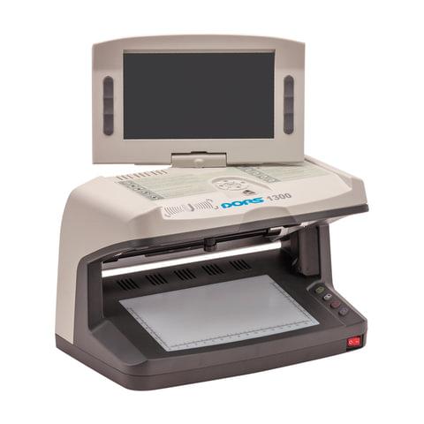 """Детектор банкнот DORS 1300 M2, ЖК-дисплей 18 см, просмотровый, ИК, УФ, АНТИСТОКС, спецэлемент """"М"""", FRZ-019225"""