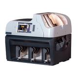 Счетчик-сортировщик банкнот MAGNER 350, 1100 банкнот/мин., ИК-, УФ- магнитная- детекция, 3 лотка, FRZ-007622