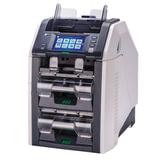 Счетчик-сортировщик банкнот GRGBanking СM200V, 1100 банкнот/мин., ИК-, УФ- магнитная детекция, 3 лотка