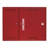 Шкаф пожарный ПРЕСТИЖ-02, навесной, закрытый, красный, 531-02