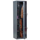 """Сейф оружейный AIKO """"Филин 33"""", 1400х430х300 мм, 71 кг, на 3 ствола, 2 ключевых замка"""