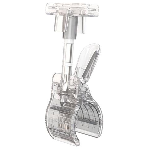 Держатели-прищепки CLAMP-T для рамок POS, пластиковые, прозрачные, комплект 10 шт., универсальный, 102186-00