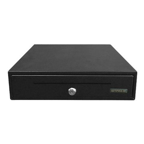 Ящик для денег ШТРИХ MidiCD, электромеханический, 344х360х97 мм, (ККМ ШТРИХ), черный, 72317