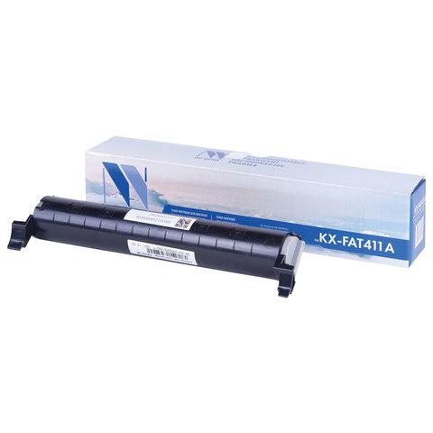 Тонер-картридж NV PRINT (NV-KX-FAT411A) для PANASONIC KX-MB1900/2000/2020/2030, ресурс 2000 стр.
