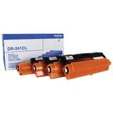 Фотобарабан BROTHER (DR241CL) HL-3140CW/DCP-9020CDW/MFC-9140CDN и др., комплект 4 цвета, ресурс 15000 стр.