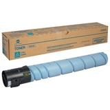 Тонер KONICA MINOLTA (TN-512C) bizhub C454/C554, голубой, оригинальный, ресурс 26000 стр., A33K452
