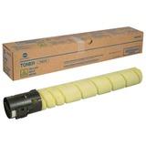 Тонер KONICA MINOLTA (TN-512Y) bizhub C454/C554, желтый, оригинальный, ресурс 26000 стр., A33K252