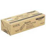 Тонер-картридж XEROX (106R01336) Phaser 6125, пурпурный, оригинальный, ресурс 1000 стр.