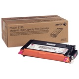 Тонер-картридж XEROX (106R01401) Phaser 6280/6280DN, пурпурный, оригинальный, ресурс 5900 стр.