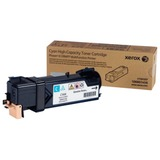 Тонер-картридж XEROX (106R01456) Phaser 6128MFP, голубой, оригинальный, ресурс 2500 стр.