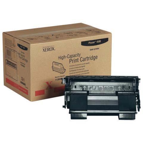 Тонер-картридж XEROX (113R00657) Phaser 4500/4500DT, оригинальный, ресурс 18000 стр.
